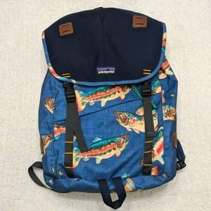 Patagonia Arbor Fish Backpack Pack Laptop Travel